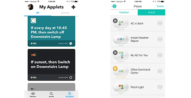 Stringfy And IFTTT - Hands-On Review And Comparison