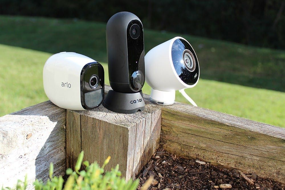 Nest Cam Outdoor Vs  Ring Vs  Canary Flex Vs  Arlo Pro 2